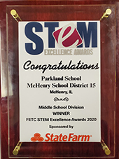 FETC STEM Excellence Winner!